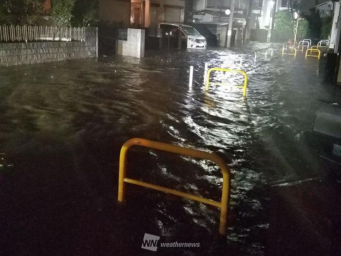 【台風3号】関東で今年一番の激しい雨、道路冠水も発生 ...