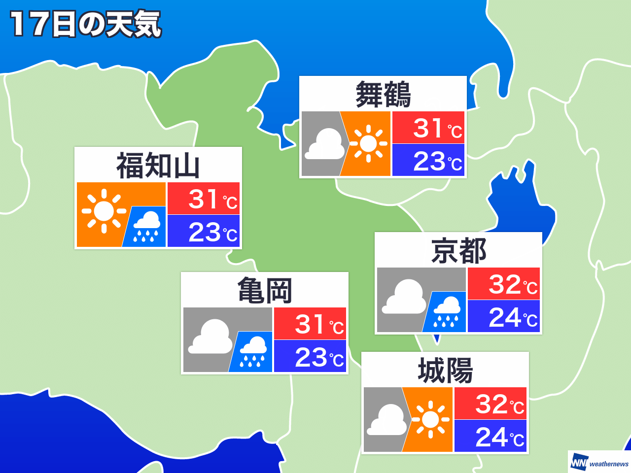 伏見 区 天気