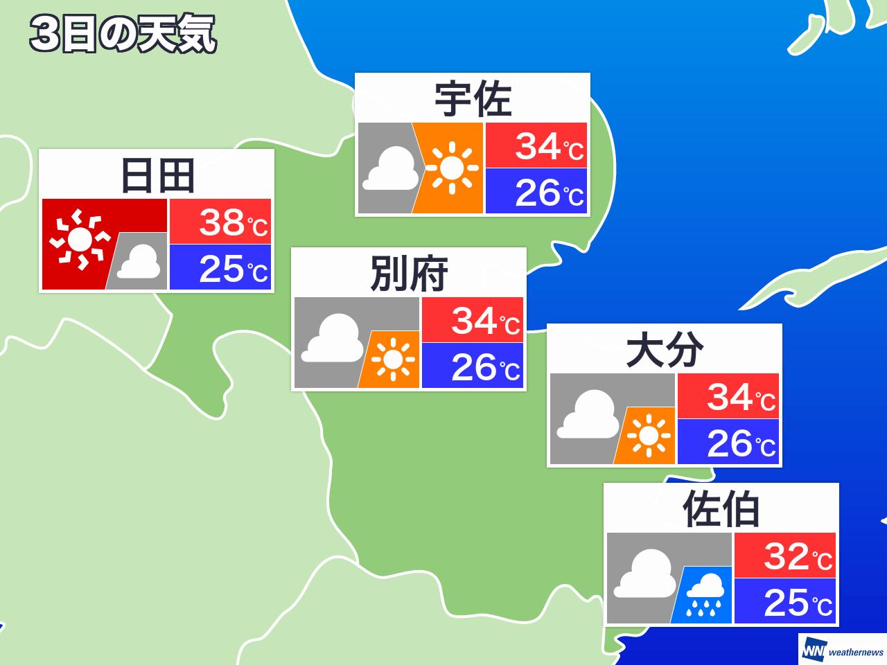 日間 10 大分 天気