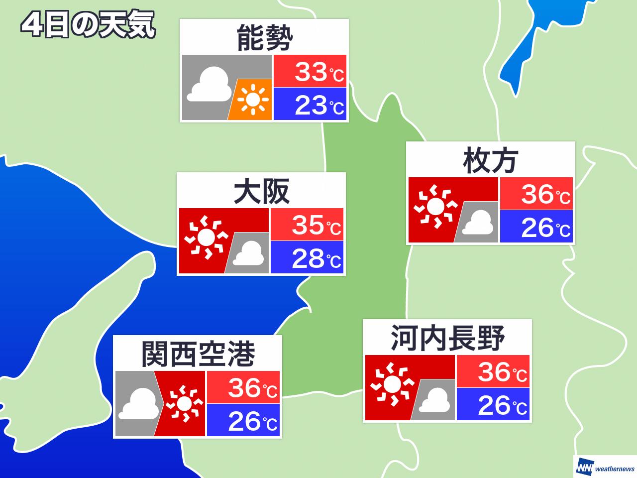 気温 明日 の