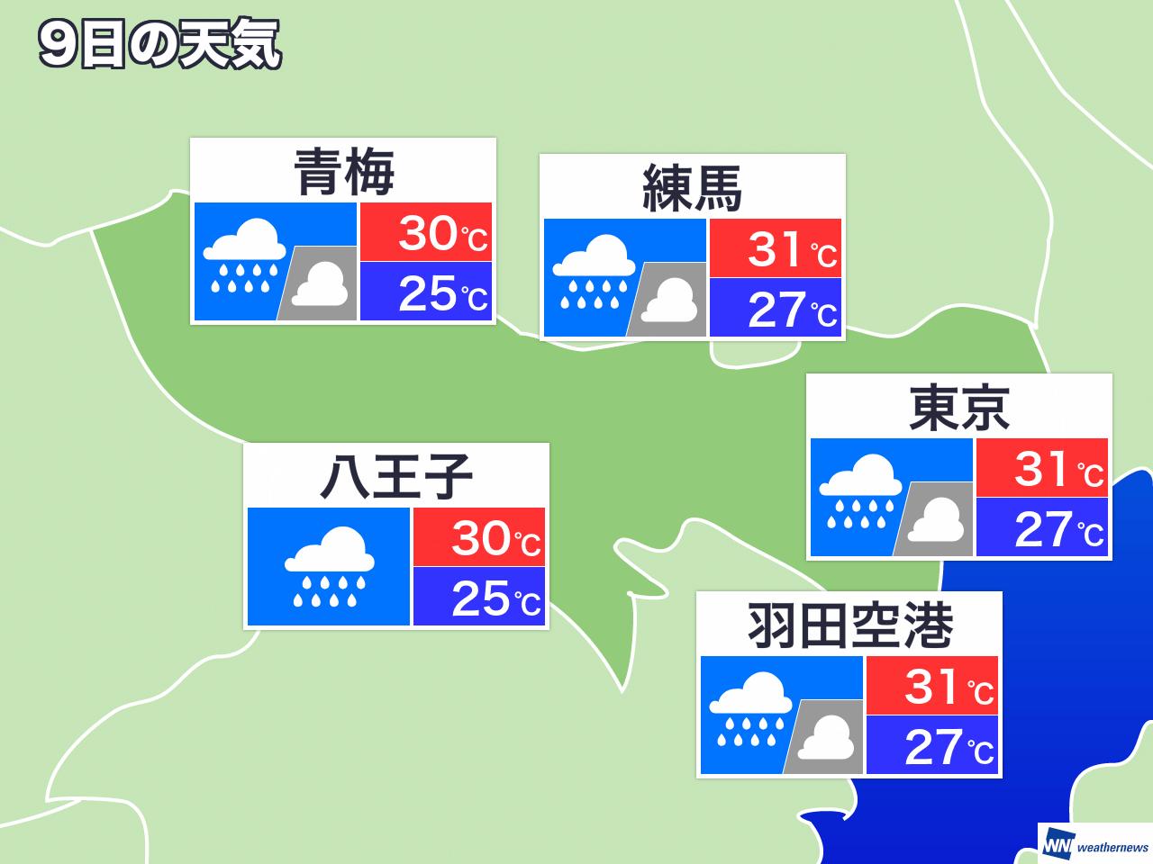 大田 区 天気 予報