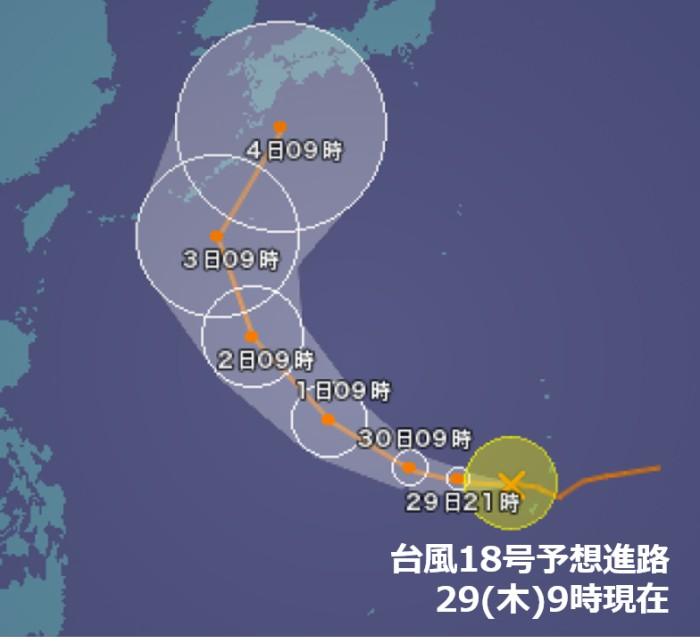 2000年の台風