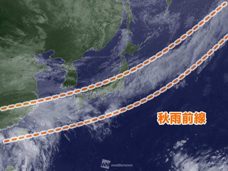 【衆院選影響か】台風発生の可能性+秋雨前線停滞 大雨が選挙戦を直撃 ->画像>6枚