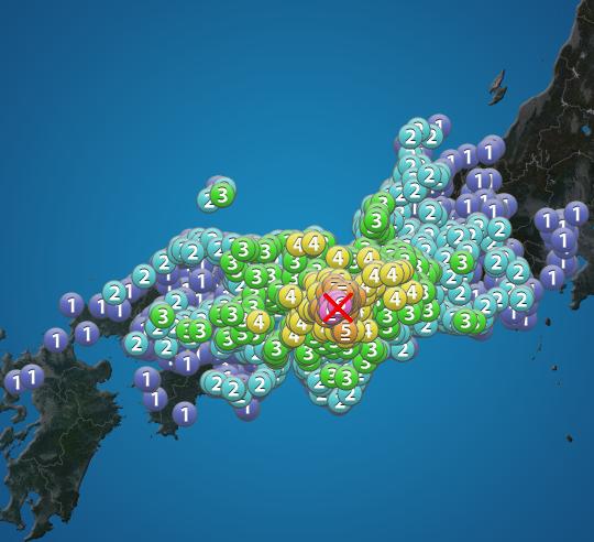 大阪地震の今日の被害状況は?震源や震度は?6月18日画像・動画あり!M6.1に引き上げ!