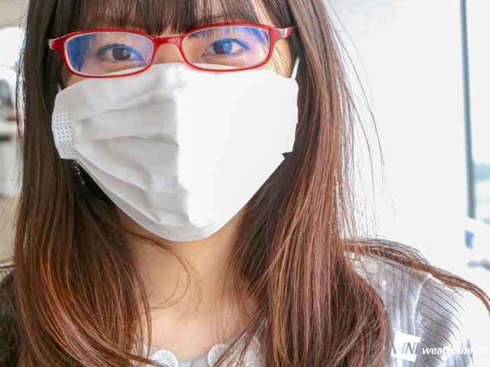 警視庁直伝 マスクで眼鏡が曇るのを防ぐ方法 ウェザーニュース