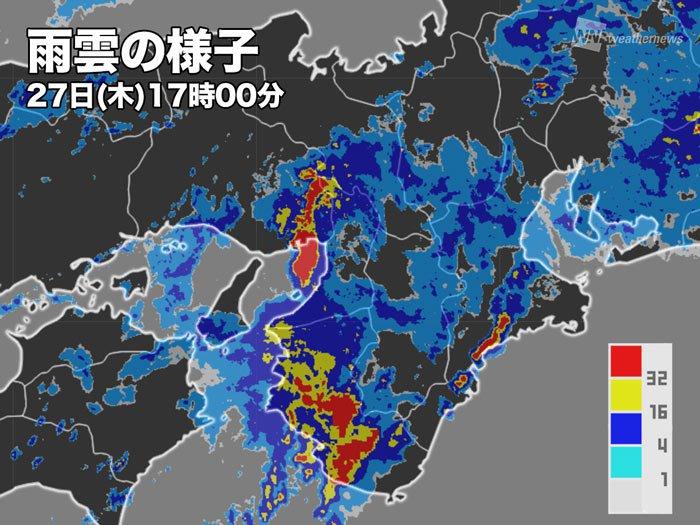 京都雨雲レーダー