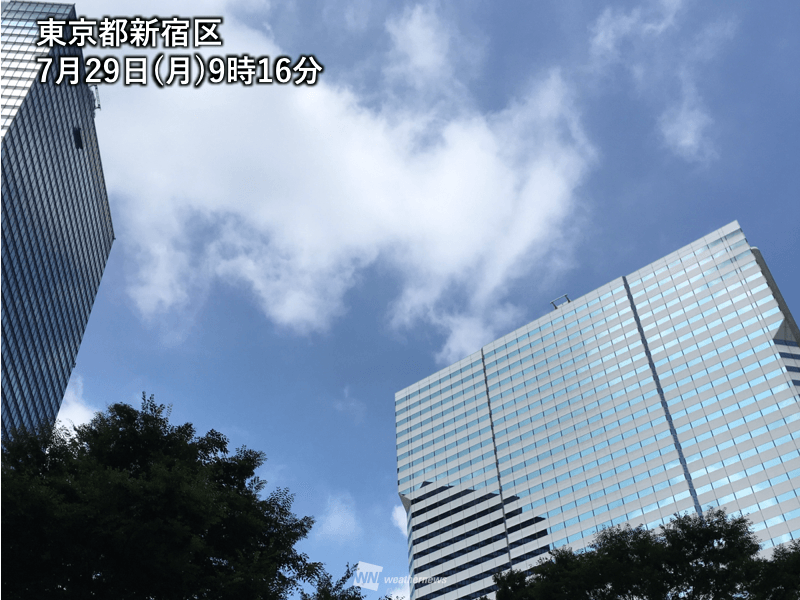 東京 いつ 梅雨 明け