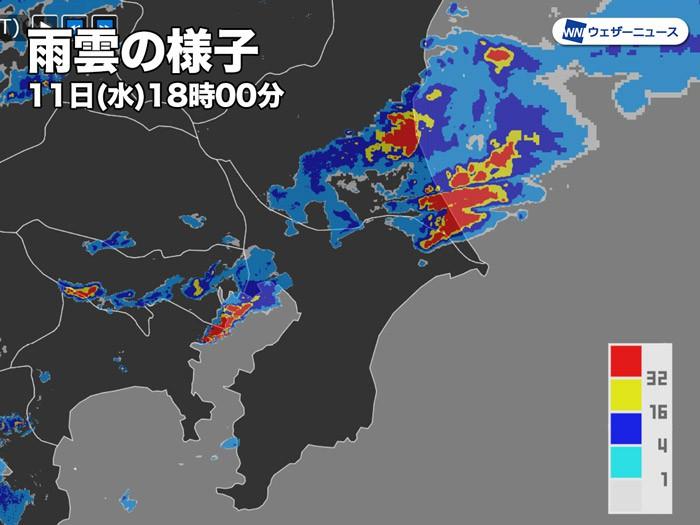 千葉 県 天気 雨雲 レーダー