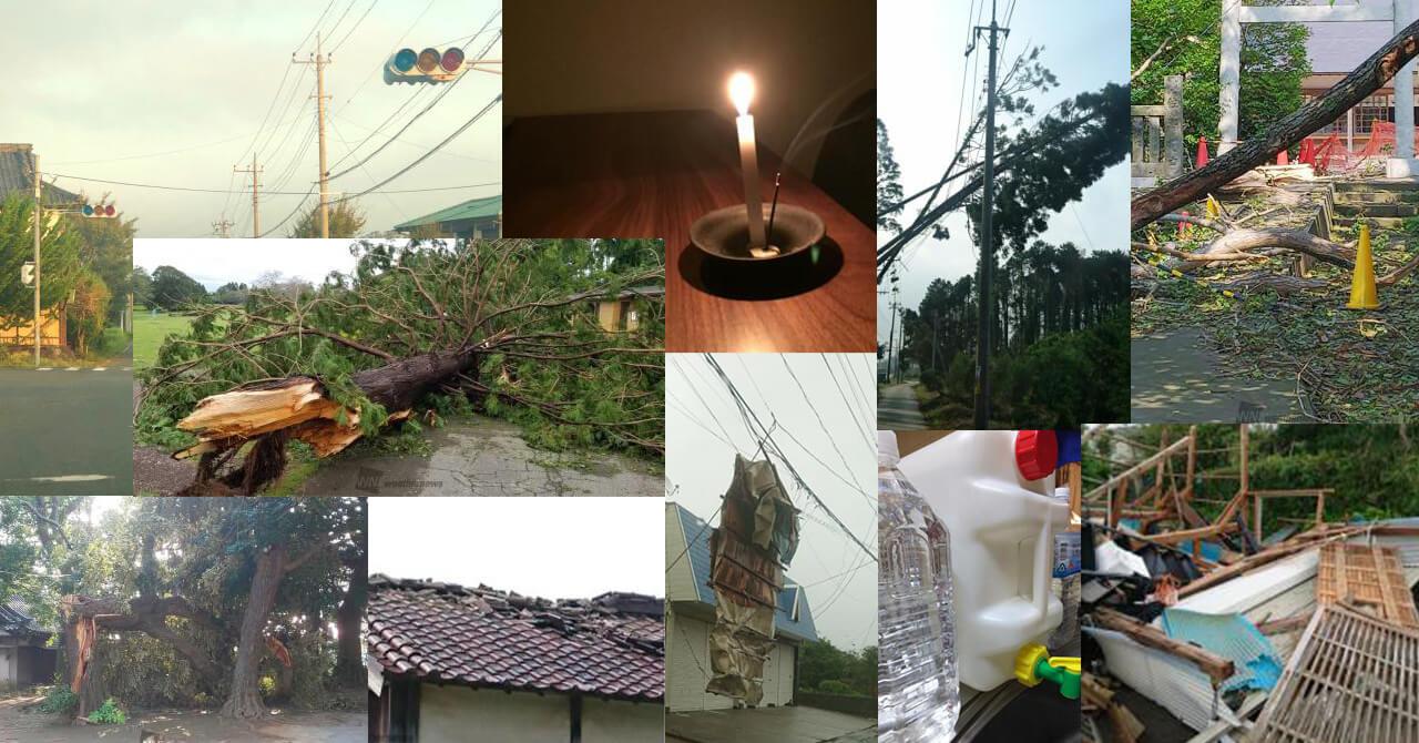 台風15号 被害