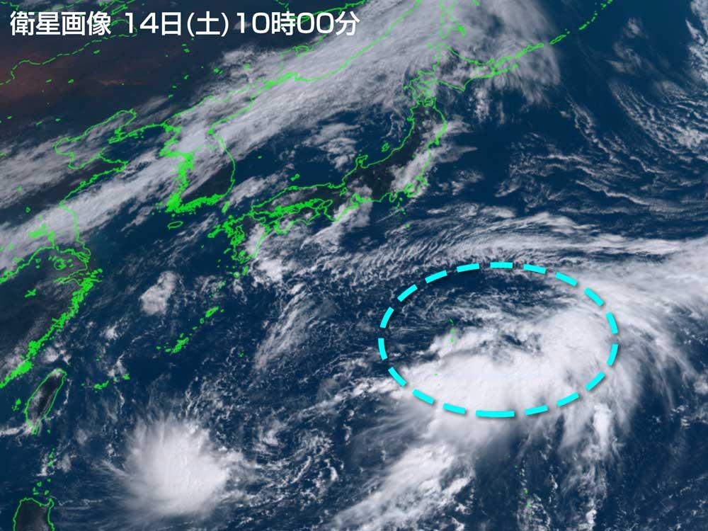 【台風速報】あす15日夜から熱帯低気圧が関東接近へ。今度こそ台風16号「ペイパー」に発達か