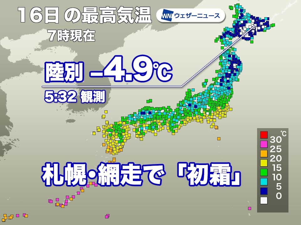 札幌 現在 気温