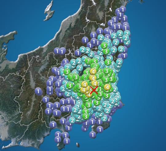 県 地震 茨城