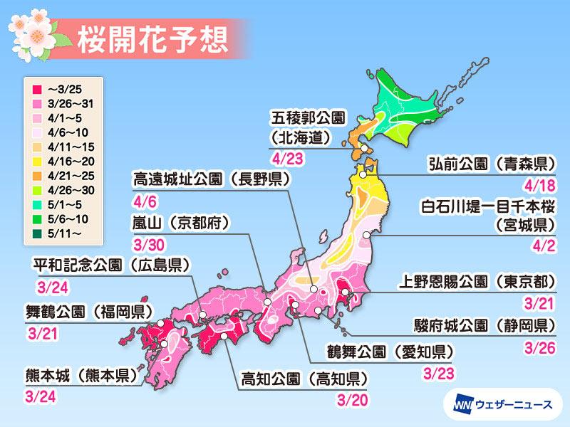 「全国 桜満開」の画像検索結果