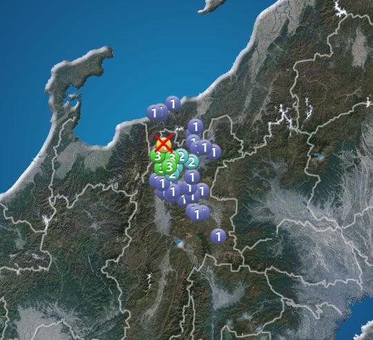 長野 県 地震 今