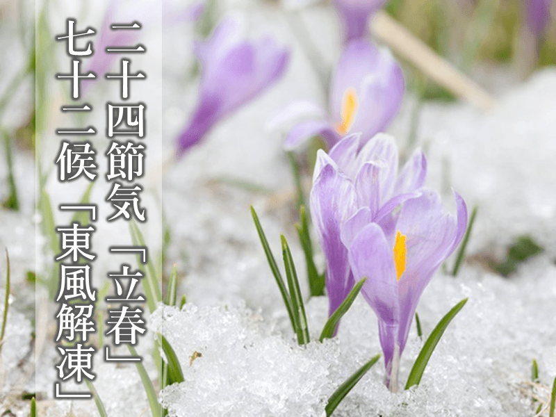 候 立春 の