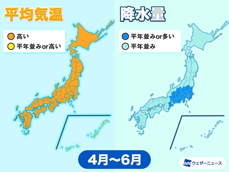 予報 気象庁 3 ヶ月 2週間天気  